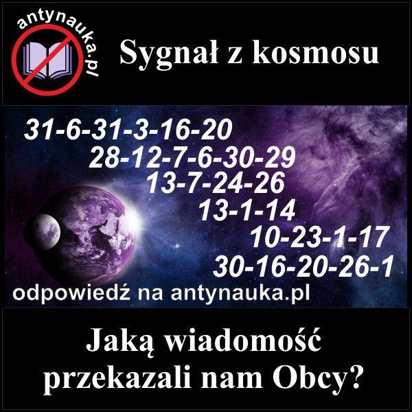 Zagadki logiczne: Sygnał z kosmosu