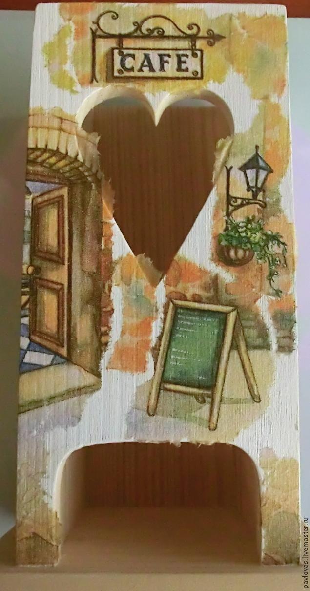 """Чайный домик """"Итальянский дворик"""". Мастер-класс по художественному декупажу. Часть 1 - Ярмарка Мастеров - ручная работа, handmade"""