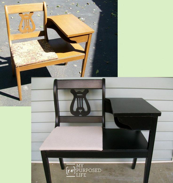kaylee a gossip bench makeover - Furniture Painter