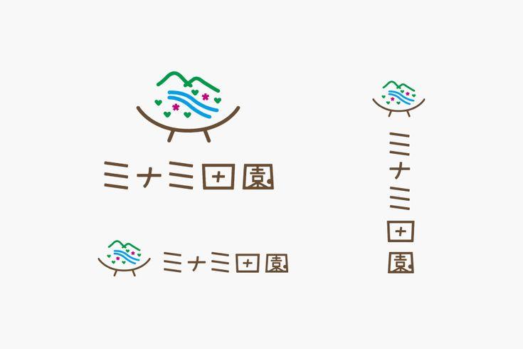 LOGOのデザイン ミナミ田園