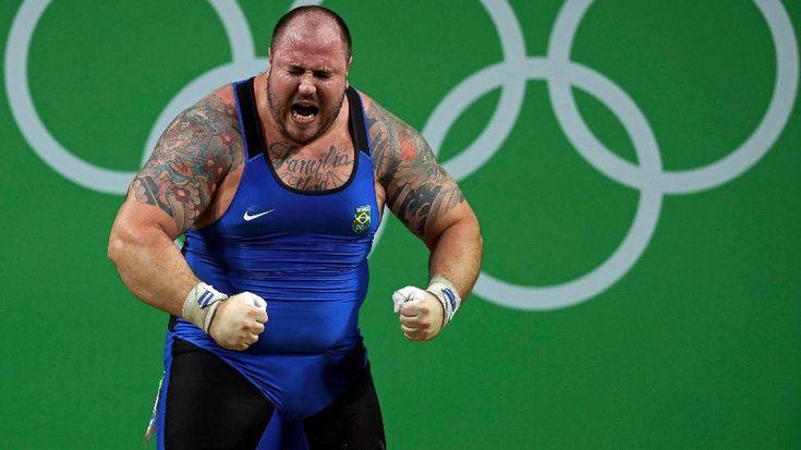 Olimpíadas Rio 2016: Em disputa com três recordes mundiais, Reis é 5º no levantamento de peso