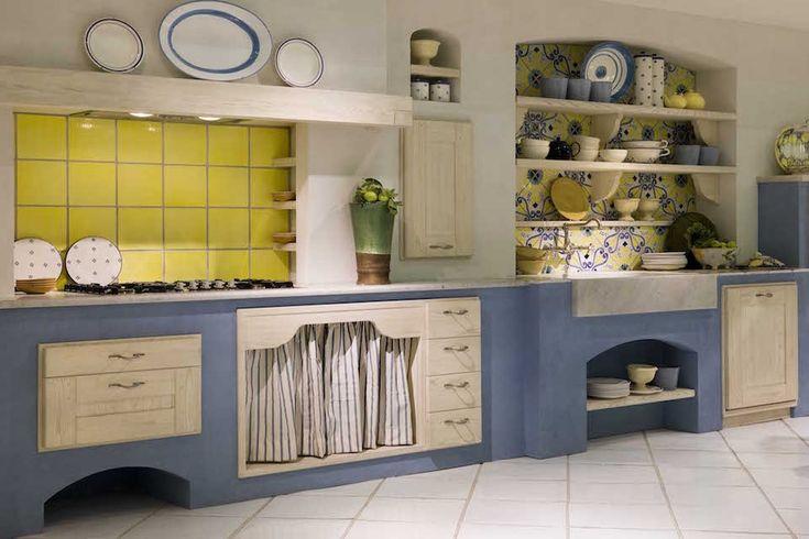 Oltre 25 fantastiche idee su cucina in muratura su - Cucine finte muratura ...