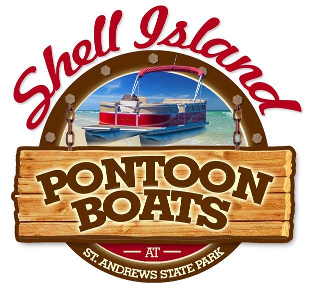 Shell Island Shuttle offers St Andrews State Park Pontoon Boat Rentals from inside the park - so call ahead (850) 630-1278 in panama city beach florida