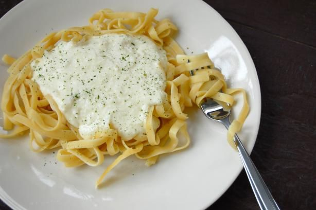Better Than Olive Garden Alfredo Sauce.  Easy copycat with nearly 400 5-star reviews.  Thanks @Parkers Mom.