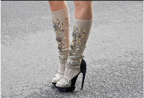 Miu Miu socks - these are completely diy possible