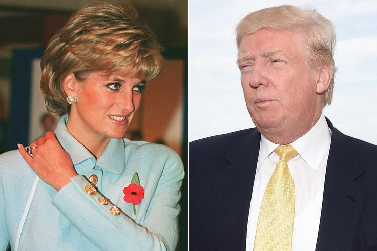 """UK's Princess Di said, """"No, no, no"""" to dating The Donald after her divorce, reports British broadcaster, Selina Scott. The article, by Di's friend, appears in The Sunday Times of London. http://www.nydailynews.com/news/politics/trump-begins-sharing-policy-specifics-immigration-isis-article-1.2327570"""
