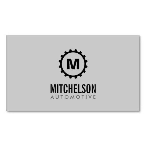 7 best automotive auto repair mechanic business cards images on automotive gear initial auto repair mechanic business card reheart Image collections