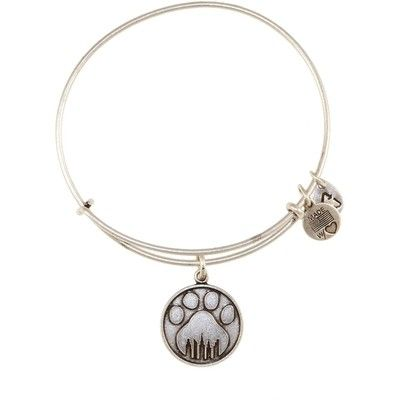 Alex and Ani Paw Prints Expandable Wire Bangle Russian Silver-Proceeds for this one go to helping animals in NYC!