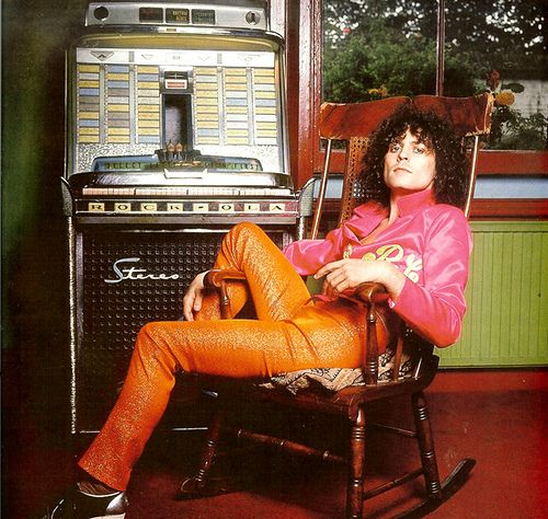 Marc Bolan relaxing to the jukebox #Mellow Taken by Bill Orchard