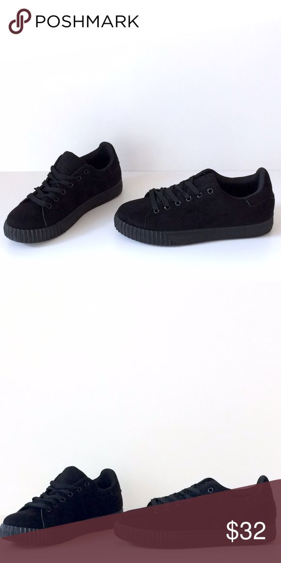 🆕 Faux Suede Creepers These awesome faux suede creepers are very comfortable and super on trend this season.  NIB Shoes Sneakers