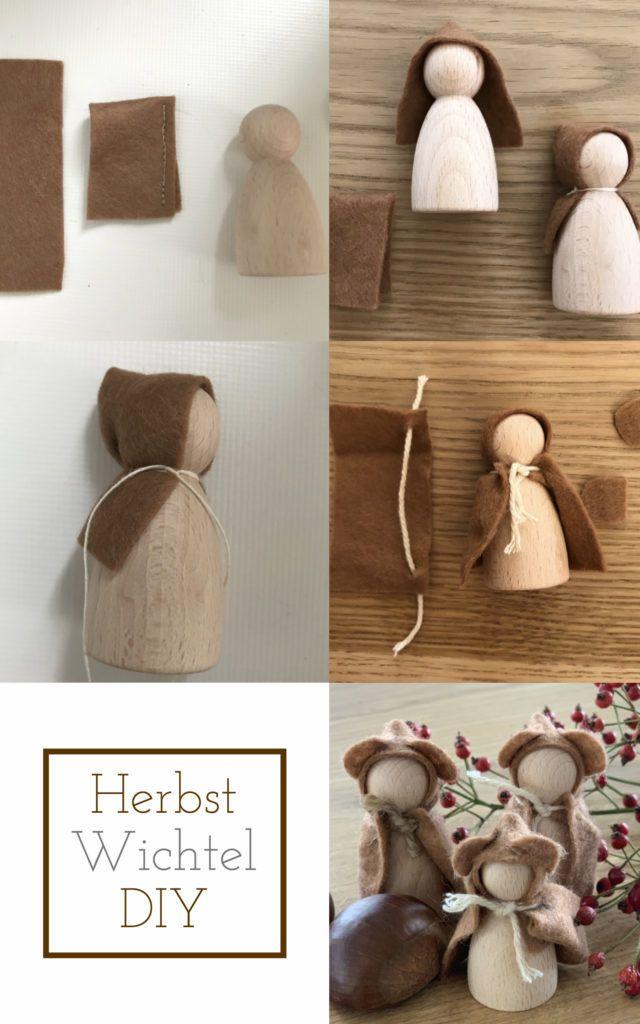 Waldorf Herbstwichtel crafts, instructions and patterns