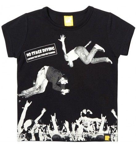 Mosh Pit Short Sleeve T-Shirt Black Rock Your Baby