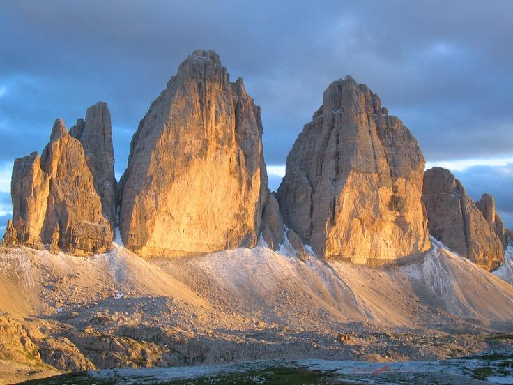 Drei zinnen, Dolomiten, Italy
