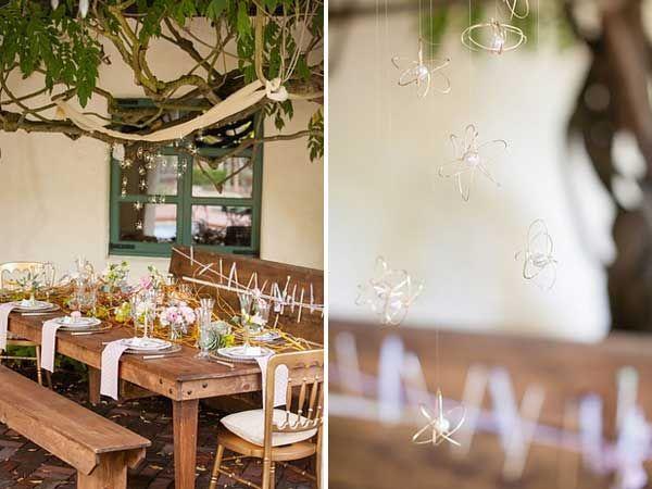 30 Budget-Friendly Fun and Quirky DIY Wedding Ideas DIY wire orbs!