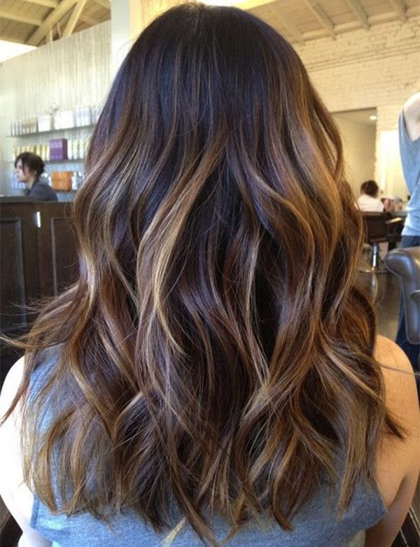 Balayage Ombre On Dark Hair