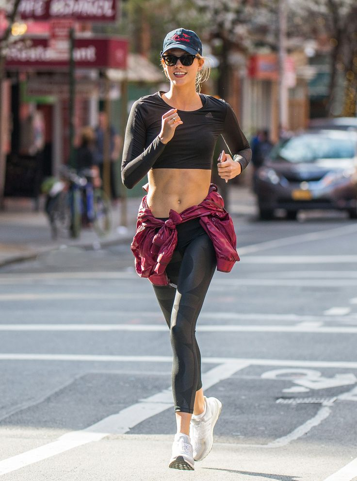 Here's How Karlie Kloss Stays Fit Without Spending $1 from InStyle.com