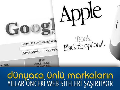Şimdilerde yenilenen tasarımlarıyla karşımızda olan dünyaca ünlü markaların web siteleri, geçmişteki tasarımlarıyla görenleri şaşırtıyor. Ayrıntılar : http://surrealistwebtasarimyazilim.blogspot.com.tr/2014/04/unlu-markalarin-yillar-onceki-web-siteleri-nasil-gorunuyordu.html  #internet #website #webdesign #webtasarim