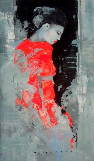 .Viktor Sheleg, Expectation, Hillier Gallery - Contemporary Fine Art.