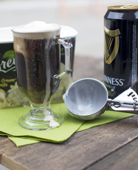 out that soda in your ice cream beverage for some chocolatey Guinness ...