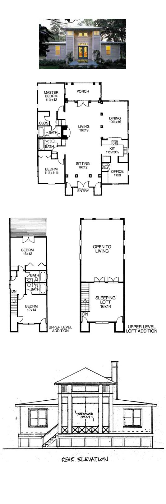 16 best images about exclusive home plans on pinterest for 16 x 48 house plans
