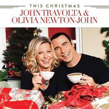 We go together! John Travolta, Olivia Newton-John reunite for upcoming Christmas album (Hip-O via amazon.com)