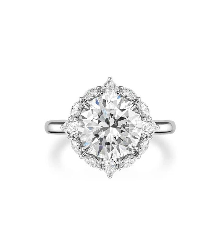 another beautiful diamond and platinum engagement ring from harry winston for tips on buying a - Harry Winston Wedding Rings