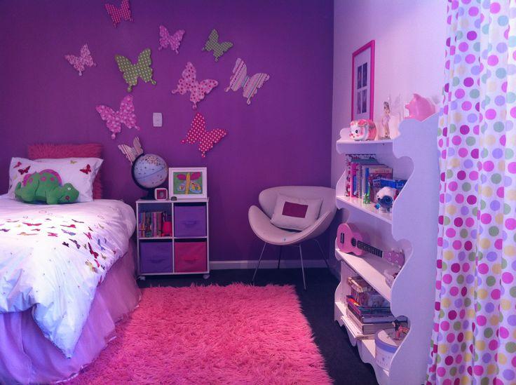 Resene Sugar And Spice girls bedroom.
