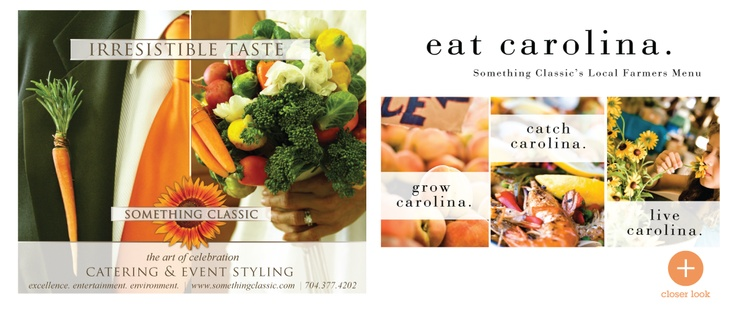 Creative advertisements for high end catering company for Catering companies