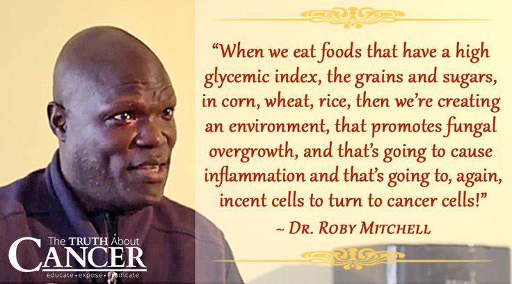 """We often talk about the importance of an anti-fungal diet for cancer prevention. Watch as Dr. Roby Mitchell (aka """"Dr. Fitt"""") talks about why it is so imperative. Please re-pin to support us on our mission to educate, expose, and eradicate cancer! // The Truth About Cancer"""