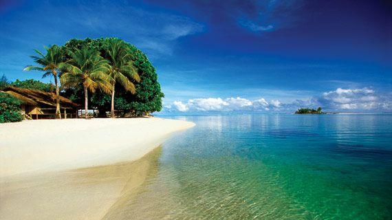 Beautiful Kiriwina Island, Papua New Guinea