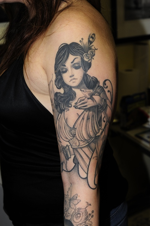 48 best black and grey tattoos images on pinterest cool for Henry lewis tattoo