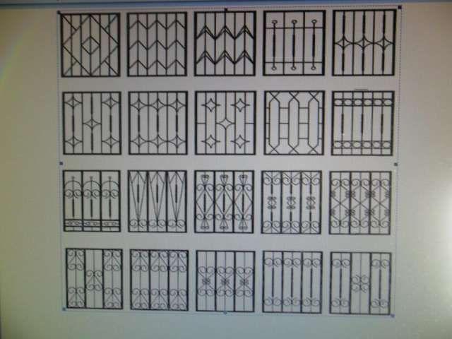 Dise o de rejas para ventanas buscar con google for Puertas para casas minimalistas