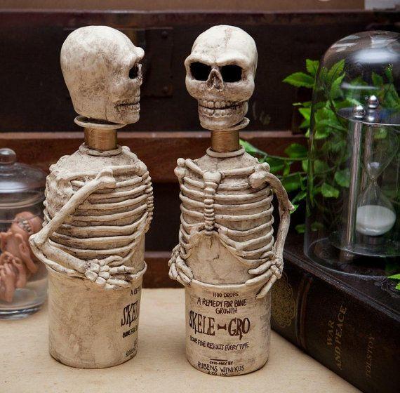 Full size Harry Potter Skele gro bottle Exact replica reproduction Handmade movie prop replica specimen oddities skeleton