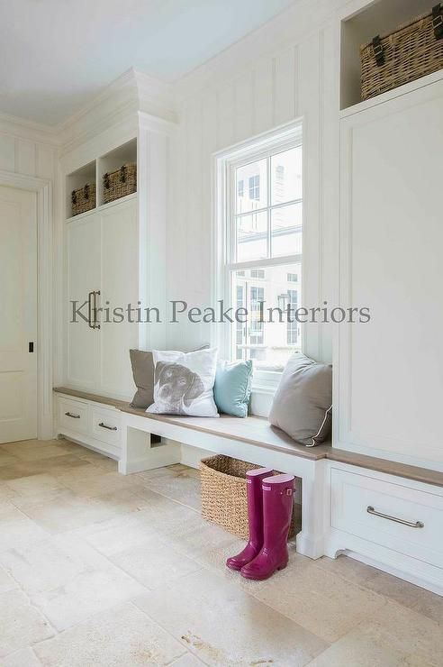 Mudroom with Clsoed Lockers