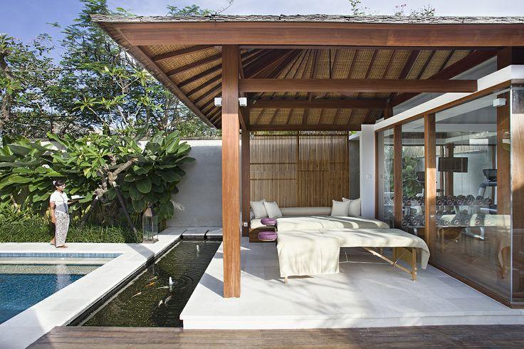Outdoor Spa- Villa Cendrawasih Bali http://prestigebalivillas.com/bali_villas/villa_cendrawasih/50/map/