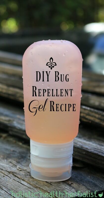 DIY Bug Repellent Gel Recipe - repel biting insects with potent essential oils!