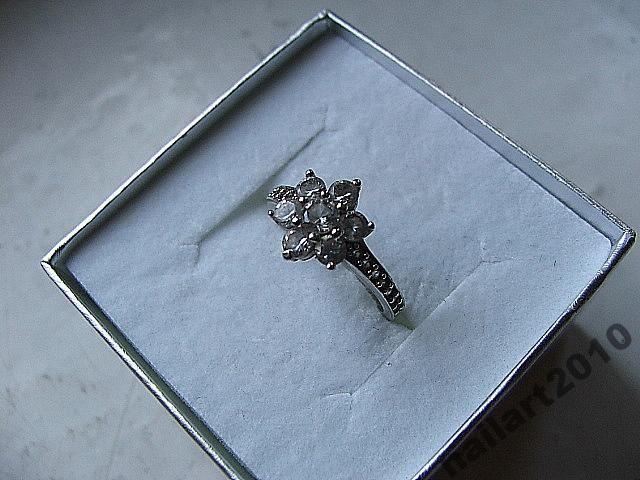 srebro 925 cyrkonie filigran apart zaręczyny