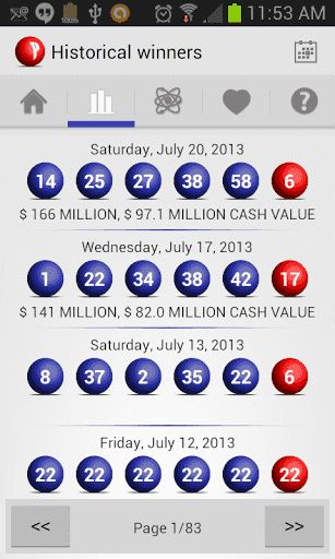 My Lottery Board for Powerball provides you with a complete set of tools that will help you to be more successfull playing Powerball<p>List of Features Included:<br>- Real time access to the latest results for Powerball<br>- Notification system to receive alerts on your phone for new results, winning numbers and other important events<br>- Analysis algorithms for people that like to choose the numbers with the best probabilities of success<br>- Quick Pick tool for people that prefers to…