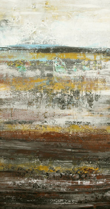 """Lisa Carney - """"Mineral Vein"""" 38"""" x 20"""" For lease or purchase www.artli.ca Lease for $65 per month"""