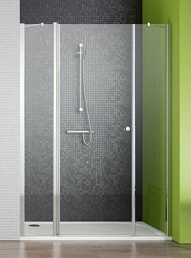 EOS II DWS Radaway drzwi wnękowe wahadłowe 1390-1410x1950 lewe - 3799456-01L  http://www.hansloren.pl/Kabiny-prysznicowe/Drzwi-szklane-do-wneki/RADAWAY