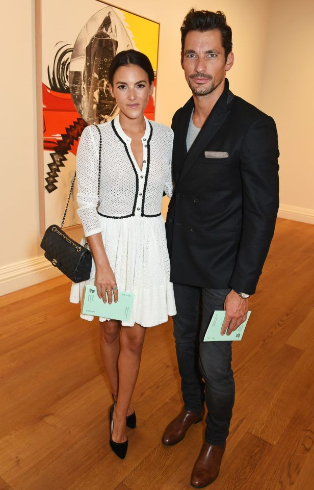 THINGS ARE HEATING UP! David Gandy and new love Stephanie Mendoros go public to launch Brown's London Art Weekend  The gorgeous couple proved they were culture vultures at the swanky event. MODEL David Gandy soaked up some culture with new girlfriend Stephanie Mendoros as they visited a swanky art event in London.  The chisel-jawed underwear hunk struck a signature perfect pose as he cuddled up with the brunette for a picture at Brown's London Art Weekend. SPORT TV & SHOWBIZ LIVING NEWS…