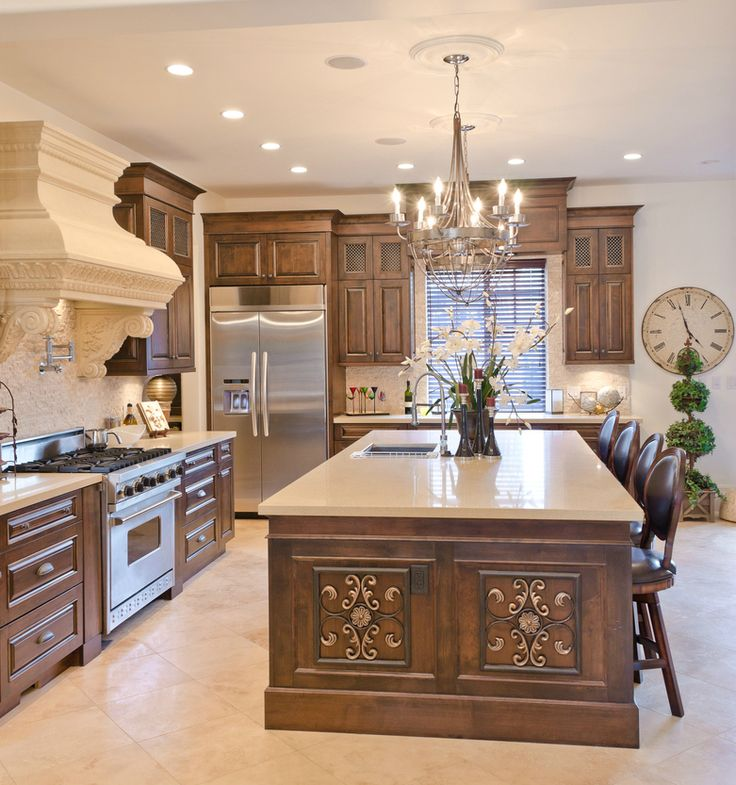 Kitchen Design Brown: 101 Custom Kitchen Design Ideas ([y] Pictures)