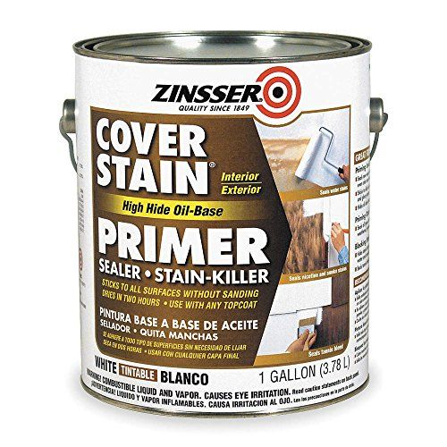 Primer/Sealer Stain Killer, White, 1 gal. Zinsser http://www.amazon.com/dp/B000R8HRCE/ref=cm_sw_r_pi_dp_D.yqvb090TSVT