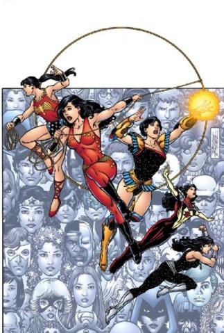 Donna Troy AKA Troia AKA Wonder Girl.  By George Perez.