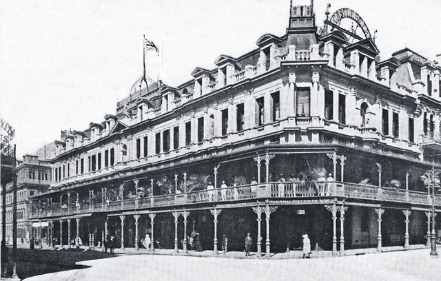 The Grand Hotel, Cape Town, early 1900s