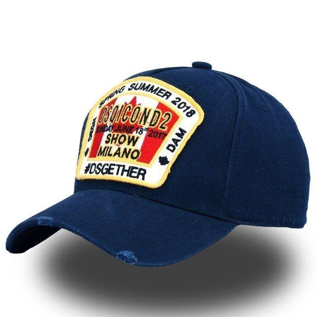 Maple Leaf Baseball Caps Men Women Embroidery Cotton Hip Hop Adjustable Snapback