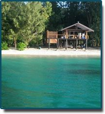 Doini Island Bungalow, Milne Bay PNG