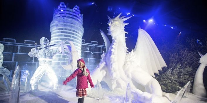 A Family Trip to Winter Wonderland Hyde Park, London | Take The Family