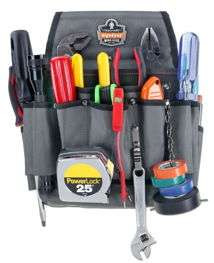 Arsenal 5548 Electrician's Tool Pouch - Electrician Tool Belt