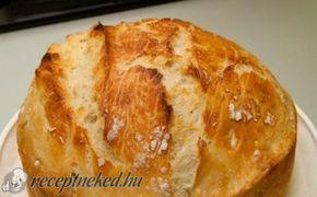 Bögrés házi ropogós kenyér recept fotóval